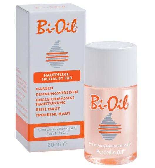 Bi-Oil ist der Hautpflegespezialist für Narben und Dehnungsstreifen. (Bild: Bi-Oil)