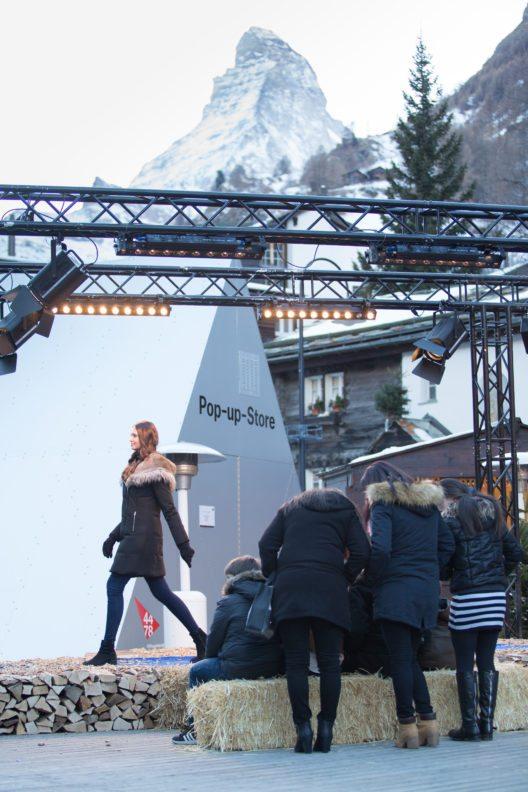 Fashionweek Zernatt (Bild: © Roman Eggenberger)