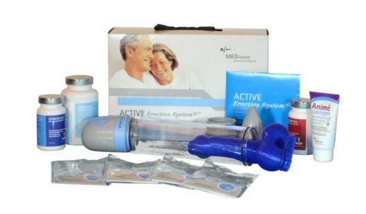 Lancy Active Erektion System Vakuumpumpe erektile Dysfunktionen