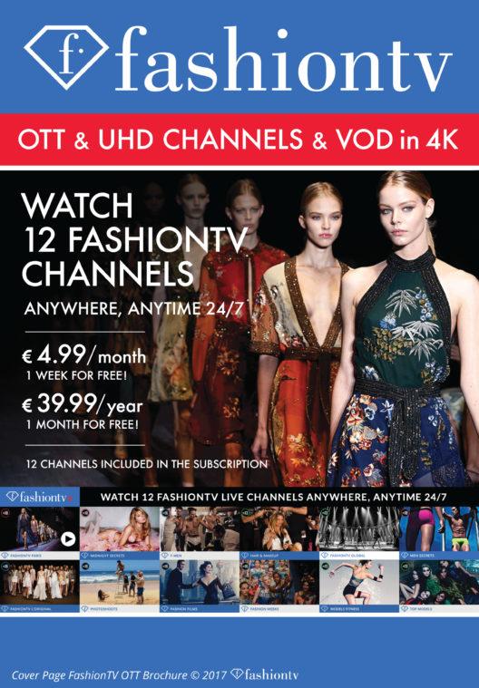 FashionTV Cover (Bild: 2017 FashionTV / OTT)