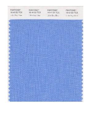 PANTONE 16-4132 Little Boy Blue: Mit der Erwartung eines klaren blauen Himmels ist Little Boy Blue nicht nur etwas für kleine Jungs. Mit seiner Expansivität und Kontinuität beruhigt uns dieser azurblaue Ton mit dem Versprechen eines neuen Tages.