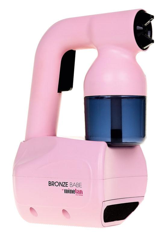 MineTan Bronze Babe Personal Spray Tan Kit: Bronze Babe ist das professionelle Bräunungsgerät für Zuhause. Die Intensität ist manuell einstellbar und somit auch für das Gesicht geeignet…