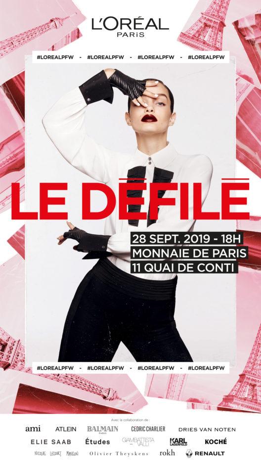 Le Défilé L'Oréal Paris 2019 (Bild: obs/L'Oréal Paris)