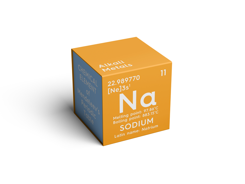 Natrium ist für den Wasserhaushalt besonders wichtig. (Bild: Alexander A. Nedviga - shutterstock)