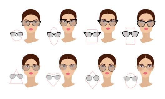 Für jede Gesichtsform die passende Brille (Bild: juliawhite - shutterstock.com)