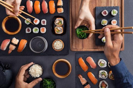 Sushi - lecker und gesund (Bild: Rido - shutterstock.com)